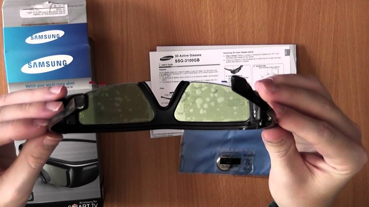 Samsung Ssg 3100gb 3d Brille Unboxing Hands On German Youtube