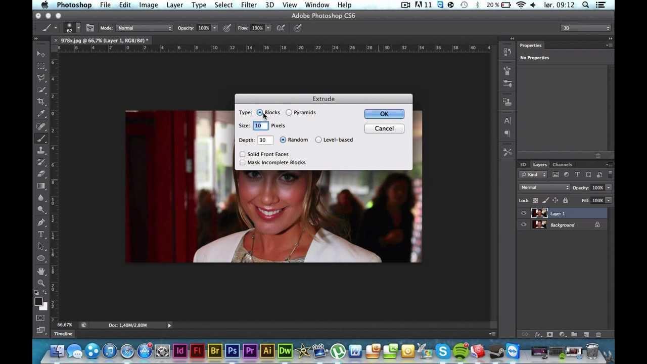 Photoshop cs6 tutorial 3d effects youtube photoshop cs6 tutorial 3d effects baditri Images