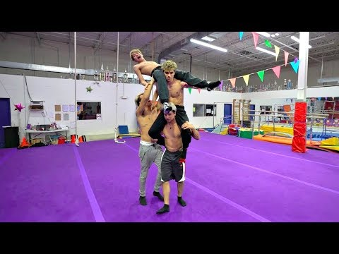 RETURN OF THE INSANE GYMNASTICS CHALLENGE!