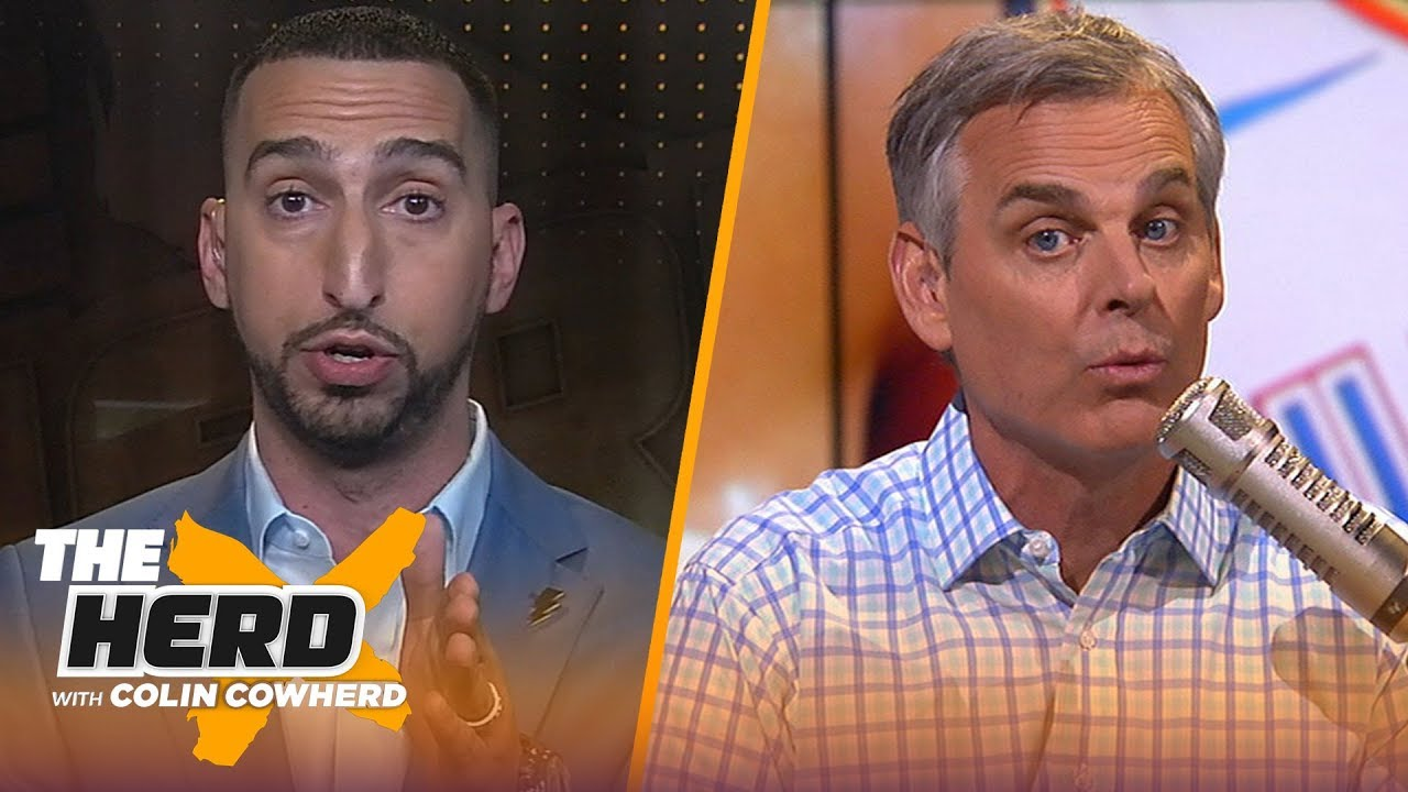 Nick Wright: Westbrook's 20-20-20 game speaks to his greatness, talks next Lakers coach   THE HERD