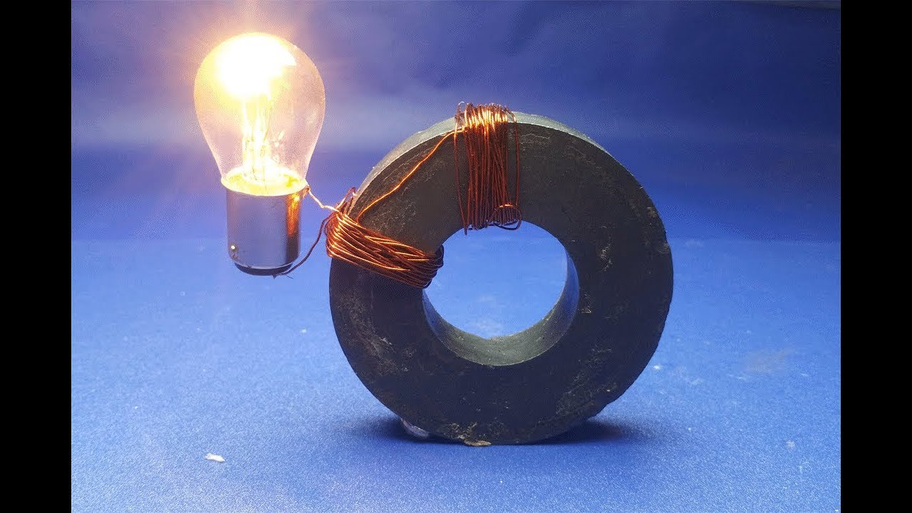 Experiment Copper Wire Generator Free Energy Magnet