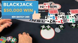 $50,000+ Biggest Blackjack Win Yet