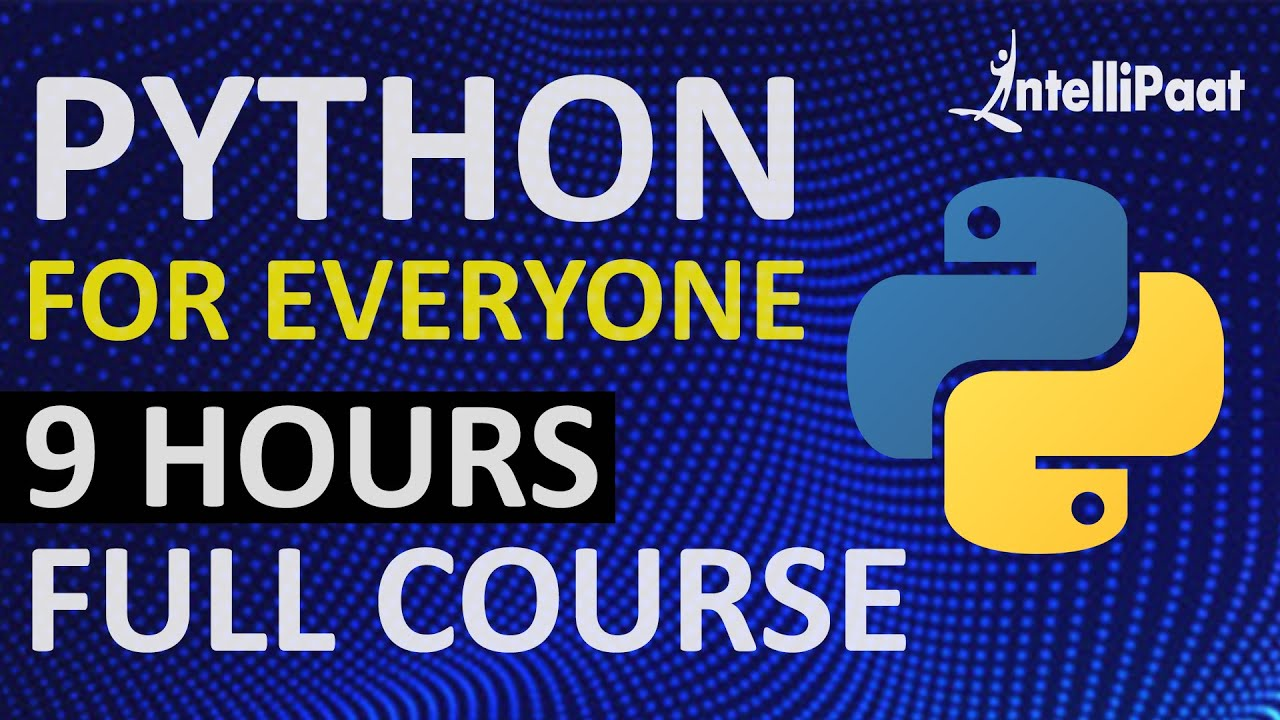Learn Python | Python Course | Python Online Course | Intellipaat