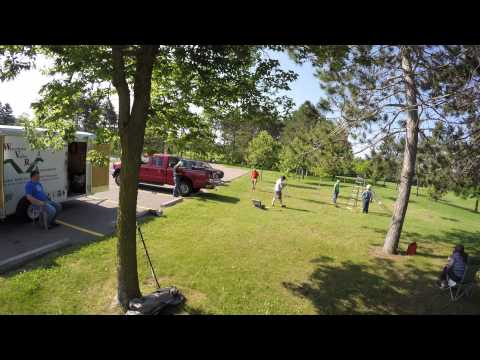 Wisconsin Valley Radio Association Field Day 2015 Setup Timelapse
