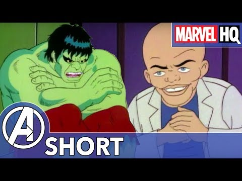 Hulk Gets Camera Shy! | Marvel Mash-Ups: Hulk | Puppet Master