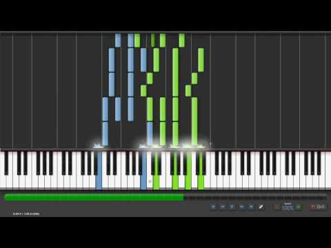 Synthesia  Pomp and Circumstance Graduation March Piano Tutorial;