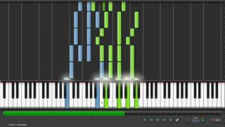 Synthesia - Pomp and Circumstance (Graduation March) Piano Tutorial;