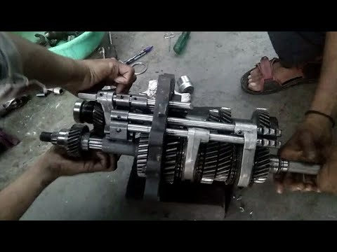 Mahindra scorpio Gearbox full Assembly || Gearbox overhaul