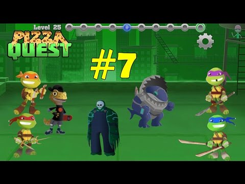 tmnt-:-pizza-quest---gameplay-part-7