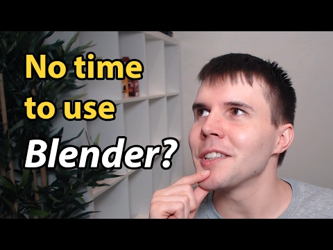 Too busy to learn Blender?