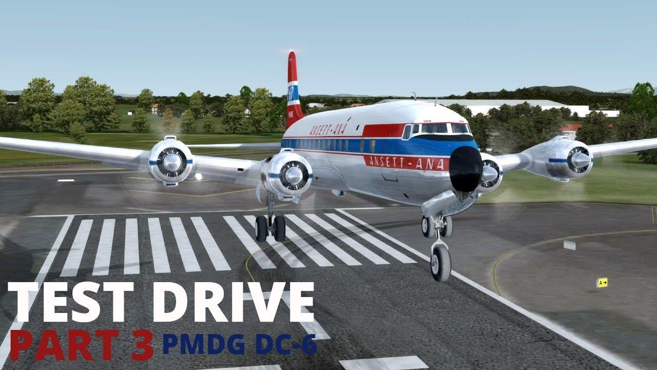 Test Drive | PMDG DC-6 | PART 3 | Landing