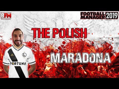 FM19 - The Polish Maradona - Wonderkid Experiment - Football Manager 2019