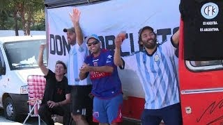 Argentina's die-hard fans bęt on reaching final