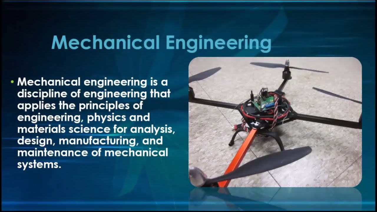 mechanical engineering what is it