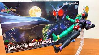 【ジョーカーエクストリーム!】フィギュアライズスタンダード 仮面ライダーW サイクロンジョーカー プラモデル 組み立て レビュー MGと比較 kamen rider double plamodel