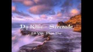 Dạ Khúc (Serenade) - Lời Việt: Phạm Duy (HPL)