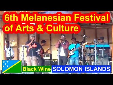 Black Wine, Solomon Islands, 6th Melanesian Festival of Arts and Culture