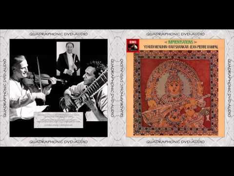 Yehudi Menuhin, Ravi Shankar, Jean-Pierre Rampal - Improvisations [Dolby Prologic II Sound]