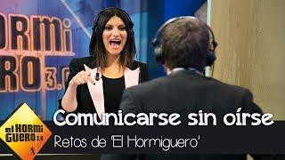 ¿Serán capaces Pablo Motos y Laura Pausini de comunicarse sin oírse? - El Hormiguero 3.0