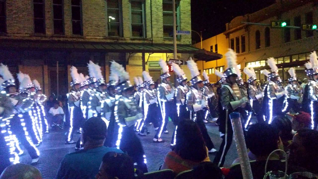 2016 San Antonio Fiesta Flambeau Parade In 4k