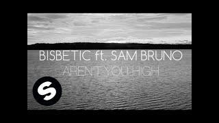 Bisbetic ft Sam Bruno - Arent You High (Official Lyric Video)