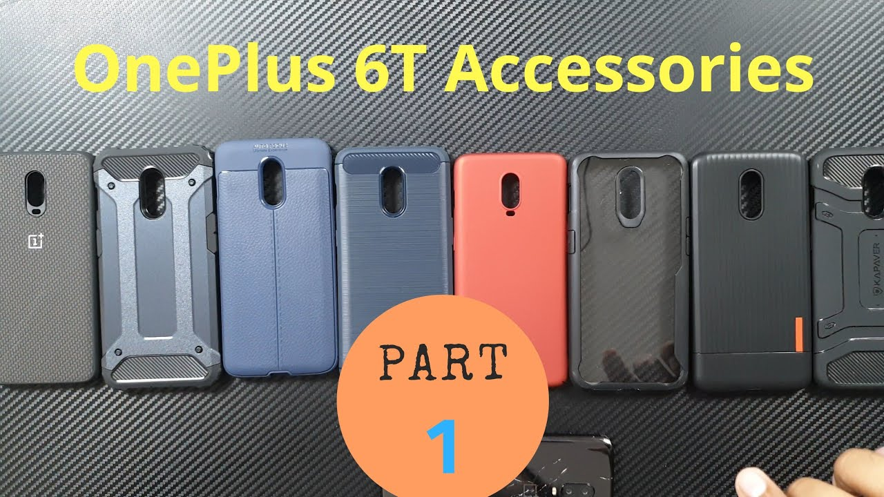 the latest d2d5f 9fc21 Best Accessories for OnePlus 6T in India (Back Case & Cover)