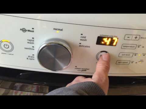 Opening A Locked Washing Machine Door Doovi