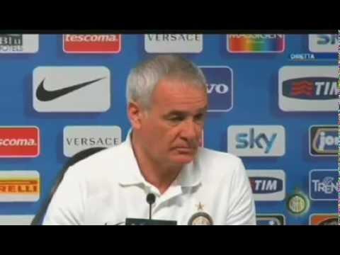 Conferenza Ranieri pre Chievo-Inter 08/03/2012 h.13:00