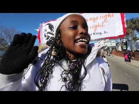 Roper St. Francis Healthcare marches in Charleston MLK Day Parade