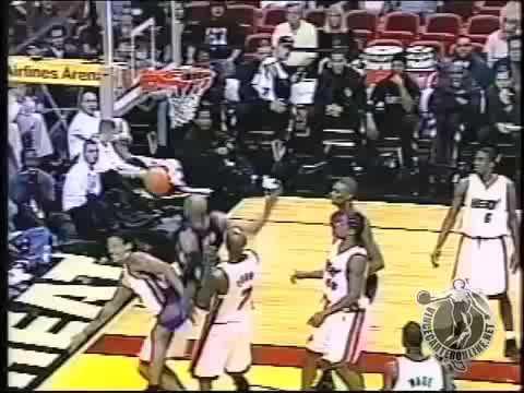 VC nice putback slam vs Heat 2004 season