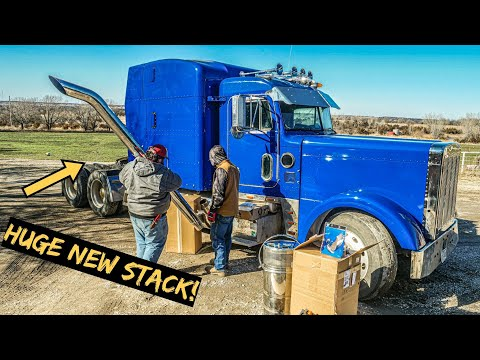 The Wrecked 379 Peterbilt is Back!