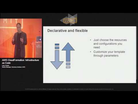 AWS CloudFormation: Infrastructure as Code | AWS Public Sector Summit 2016