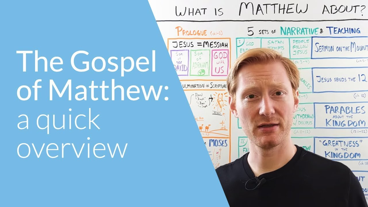 The Gospel of Matthew: Summary and Outline | OverviewBible