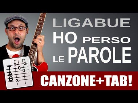 Ligabue - Ho perso le parole - Tutorial lezione di chitarra