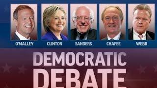 democrats go head to head in first 2016 debate