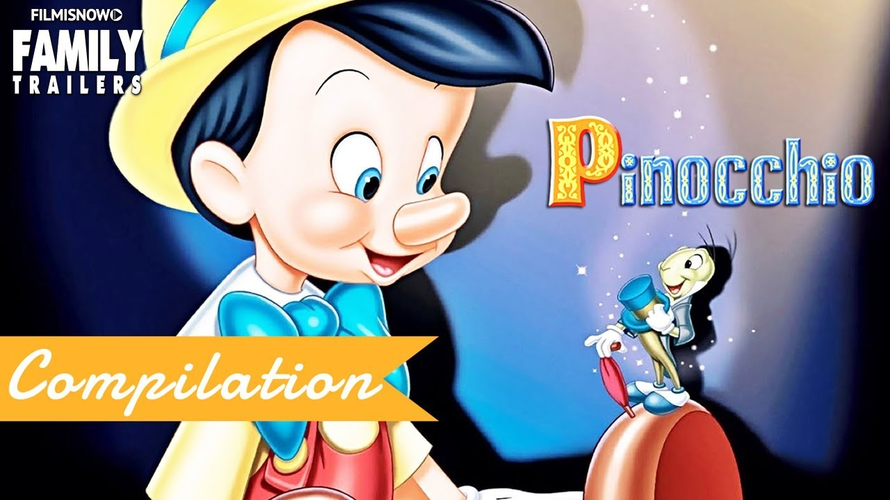 Pinocchio Clip And Trailer Compilation For Disney Classic Family Movie Youtube