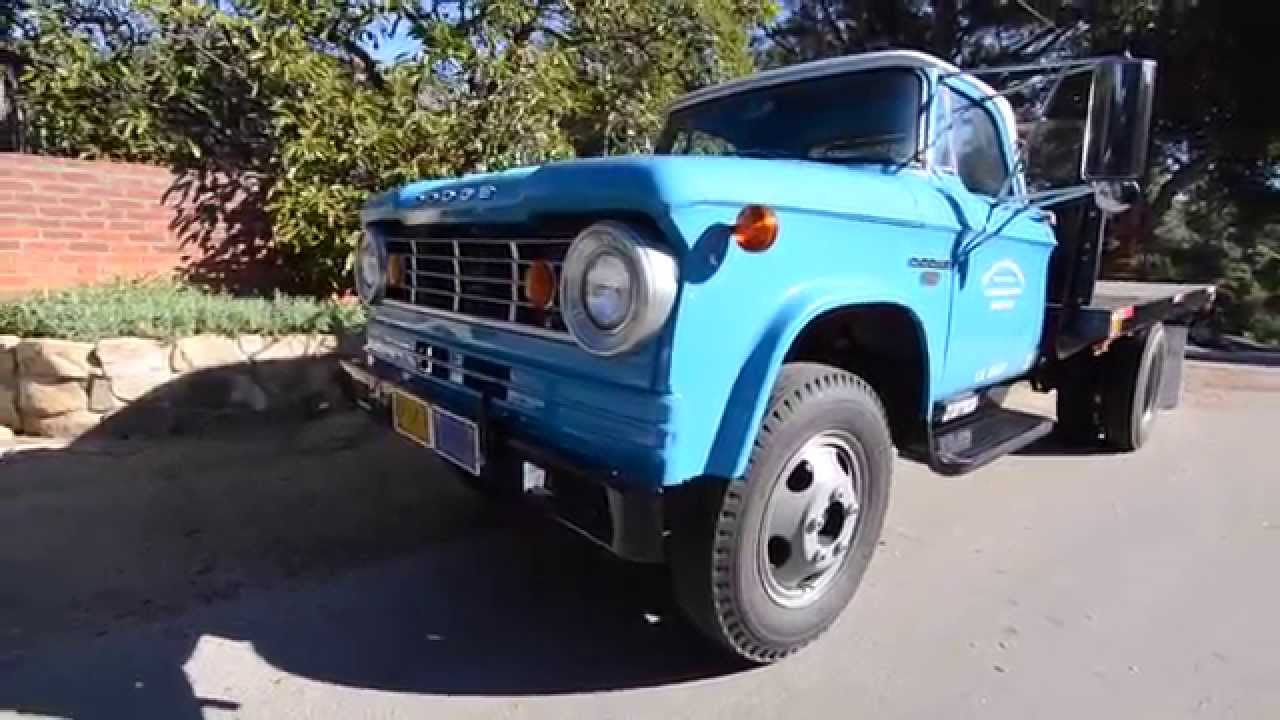 SOLD: 1966 Dodge D400 Excellent Condition, CA - YouTube