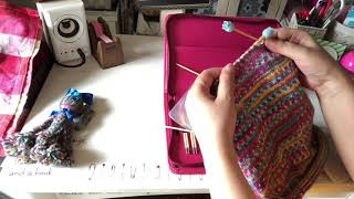 編み物バッグを使ってみた感想です*\(^o^)/*