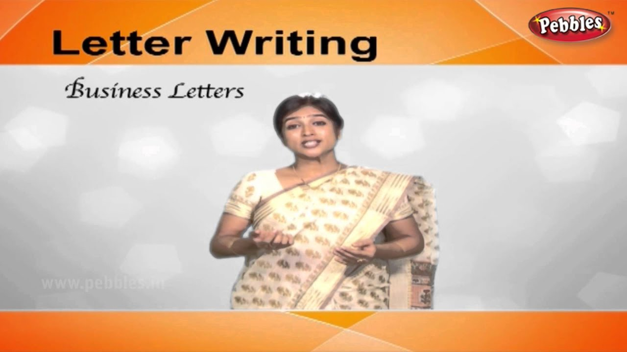 How To Write Business Letters | Letter Writing In English | Writing Letters  For Kids - Youtube