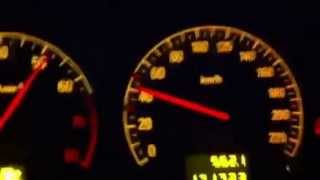 Opel vectra c 2.2i 0-100 km/h ~9 sec