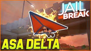 ASIMO3089 IRA PUT HANG GLIDER on JAILBREAK!! (Update Roblox Jailbreak)