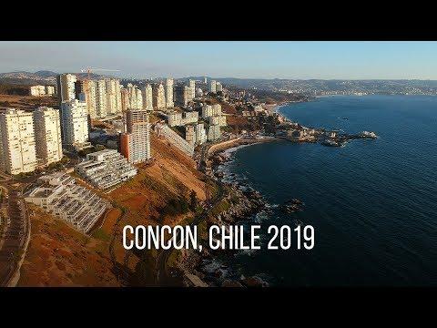 Flying Over Concon, Chile 2019. A Drone Meets Sea Lions. Полеты над Чили: океан и морские львы.