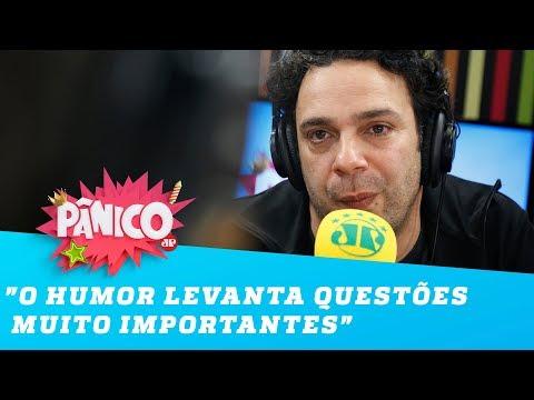 """Marcelo Médici: """"O humor LEVANTA questões muito importantes"""""""