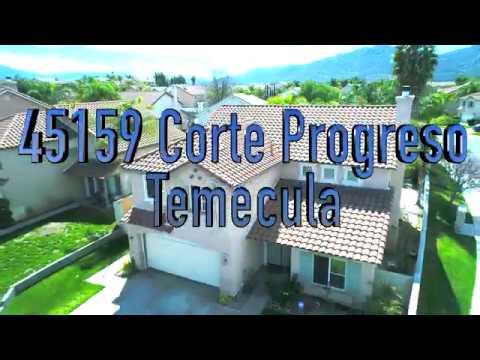 45159 Corte Progreso, Temecula CA (4K VIDEO)