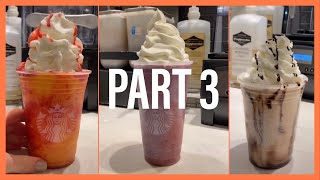 Making Starbucks drinks (Part 3) || Tiktok compilation