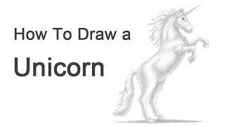 How to Draw a Unicorn (or Horse rearing)