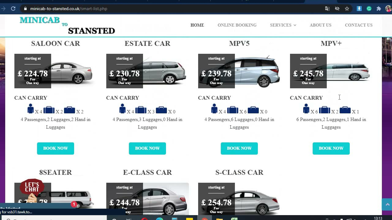 Cheap taxi booking from stansted to leeds