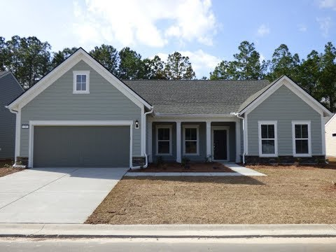 New Pulte Tangerly Oak Model Home At The Haven In Bluffton SC