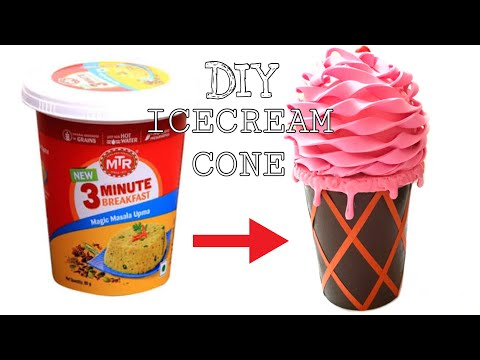 DIY Icecream cone/its art