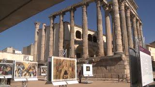 El Templo de Diana acoge la exposición 'El Prado en las calles'